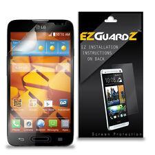 2X EZguardz LCD Screen Protector Skin HD 2X For LG Realm LS620 (Ultra Clear)