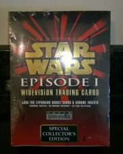 Star Wars Episode 1 The Phantom Menace Widevision Moive Trading Cards Box Sealed