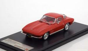 CHEVROLET CORVETTE C2 STING RAY SPORT COUPE RED 1964 PREMIUM X PRD562 1/43 LHD