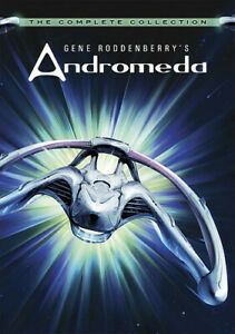 Gene Roddenberry's Andromeda: The Complete Collection [New DVD] Boxed Set, Dol
