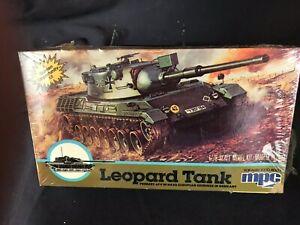 Vintage 1/76 MPC Leopard Tank Kit