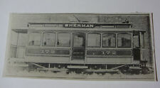 USA547 - DETROIT CITY RAILWAYS Co - TROLLEY No172 PHOTO - Michigan USA