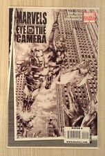 Marvels Eye Of The Camera #4 Comic Book Variant Black & White NM+ 9.6 or Better