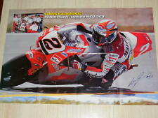 Q18 Poster Loris Capirossi - Team Pileri - Honda NSR 250