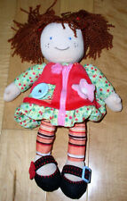 Carters Plush Dress-up Girls Doll ActivityToy Brown Hair