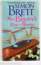 Mrs. Pargeter's Point of Honour by Simon Brett (2000, Paperback)