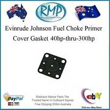 A Brand New Evinrude Johnson Choke Primer Cover Gasket 40hp-thru-300hp # 341297