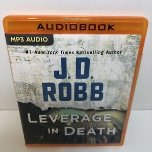 Audio Book : J D Robb : Leverage in Death (MP3 CD / 13.5 Hours)
