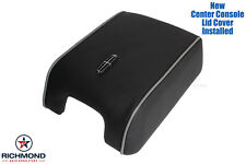 2007 Lincoln Mark LT-Center Console Storage Compartment Leather Lid Cover, Black