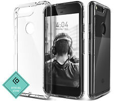 For Google Pixel Caseology® [WATERFALL] Shockproof Slim Crystal Clear Case Cover