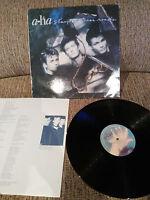 """A - Hat Stay On These Roads LP Vinyl 12 """" VG/VG Spanisch Ed Press 1988 Warner"""