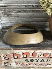 More details for milliners vintage antique head block brim shape
