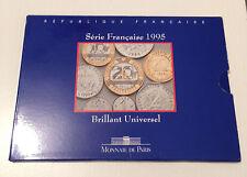 COFFRET BU DE 1995 MONNAIE DE PARIS @REF-AF-30122