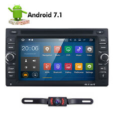 6.2 inch Android 7.1 4G WiFi Double 2DIN Car Radio Stereo DVD Player GPS+Camera~