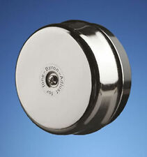 Wired Wall Mounted Underdome Striker Bell Chrome