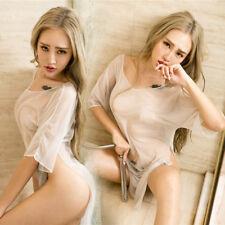 Sexy Lingerie Sleepwear Chiffon Women's G-string Underwear Babydoll Nightwear US