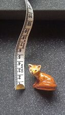 Wade Whimsie Fox, Collectable, Brown, very good condition.