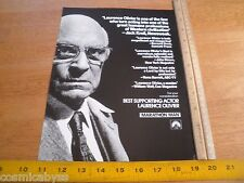 Marathon Man 1976 movie screening program credits card Laurence Olivier