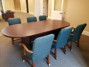 Office Conference Tables Chair Sets For Sale Ebay
