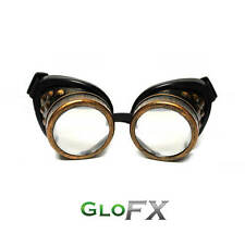 GloFX Copper Steampunk Goggles Padded Antique Style Sunglasses Unique Gothic