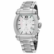 Charriol Men's Columbus MOP Stainless Steel Chronograph Quartz Watch 060T100710