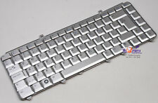 TASTIERA Keyboard Dell XPS m1330 XPS m1530 k071425xx 0rn168 UK Arabic ARGENTO 138