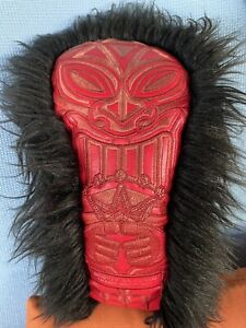 Scotty Cameron Gallery Red Tiki Fairway Wood Headcover (used)