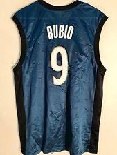 Adidas NBA Jersey Minnesota Timberwolves Ricky Rubio Blue Alt sz 2X
