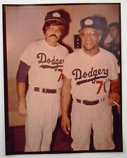 1973 REDD FOXX at Hollywood Stars Nite DODGERS Stadium  8 X 10 Color Photograph