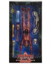 NECA PREDATOR Deluxe Accessory Pack Skinned Body Human Skull Xenomorph
