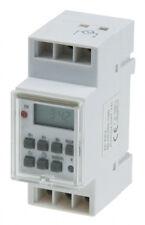 ChiliTec 20629 digital Zeitschaltuhr für Schalttafel Einbau 230 V Max 3600 W