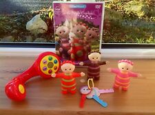 In The Night Garden Trubliphone And Tombliboo Unn Eee & Ooo Figures Bundle