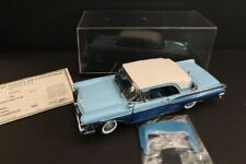DANBURY MINT Mercury Montclair Convertible 1957 Blue 1:24 Mint Condition (119)