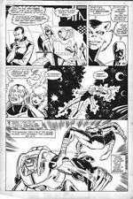 """Spectacular Spiderman Annual #8 p26 Mark Bagley Spider Man Panel Page 11""""x17"""""""