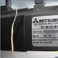 Mitsubishi servo motor HC-MF053W1 and good