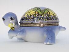 Ardleigh Elliott Tiffany The Turtle Porcelain Music/Trinket Box Collectable