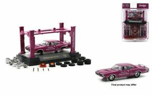 1:64 1970 Dodge Super Bee 383 -- M2 Machines Model Kits Release 38