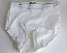 6 Vtg Nos 80s Hanes Tighty Whities Full Seat Briefs Mens Small 30 Lot FreeUship