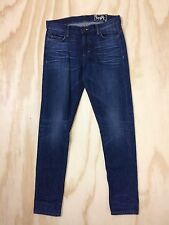 SIWY Denim Ladonna Berto Selvedge 26 x 29 Slim Leg Stretch Cotton Poly Blend