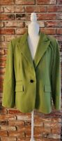 Insight Blazer Size 14 Green Long Sleeves RN62008