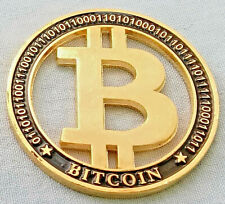 Bit Coin B Symbol Coin Gold Black Hollow Crypto Currency Trading Virtual Online