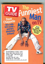 TV Guide Magazine August 8-14 2004 Dave Chapelle Reality Romances EX 062816jhe