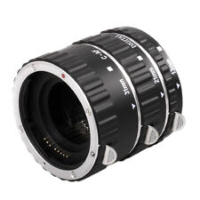 Metal Auto Focus AF Macro Extension Tube Lens Adapter Ring for Canon EOS  SI