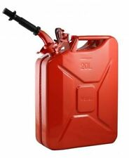 New NATO by Wavian Steel Jerry Can - RED WITH Nozzle. The real and only one !