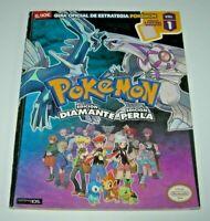Guía oficial Pokémon Diamante / Perla Vol.1 (edición española buen estado)