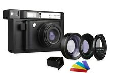 Lomography Lomo'Instant Black Instant Film Camera and Lenses