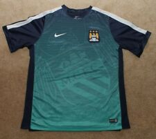 Nike Manchester City FC Training Shirt Mens XL Pre-Match Warmup