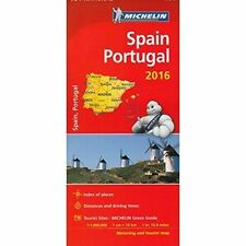 Spain & Portugal 2016 National Maps 734 (Michelin Road Atlases & Maps)