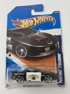 Hot Wheels CHP PONTIAC FIREBIRD HW Main Street 2011 Model Mattel 163/244 NOS