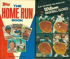 The Home Run Book Topps Edited Zander Hollander 1981  Mickey Mantle/Willie Mays
